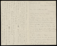 Correspondence from Charlotte Perkins Gilman to Martha Allen Luther Lane, June 8, 1884