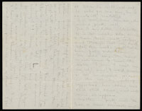 Correspondence from Charlotte Perkins Gilman to Martha Allen Luther Lane, November 20, 1884