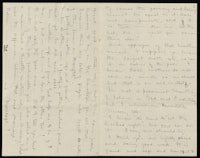 Correspondence from Charlotte Perkins Gilman to Martha Allen Luther Lane, November 3, 8, 1883