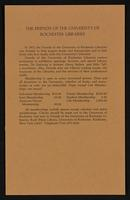 p.99 University of Rochester Library Bulletin, v. 32