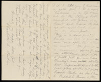 Correspondence from Charlotte Perkins Gilman to Martha Allen Luther Lane, October 11, 1882