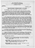 Newsletter to University Men in the Service (November 3, 1942)