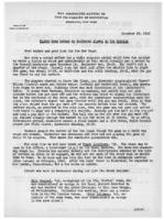 Newsletter to University Men in the Service (December 28, 1942)