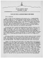Newsletter to University Men in the Service (January 12, 1943)