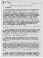 Newsletter to University Men in the Service (January 25, 1943)