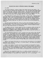 Newsletter to University Men in the Service (February 8, 1943)