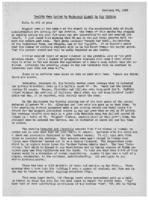 Newsletter to University Men in the Service (February 23, 1943)