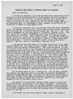 Newsletter to University Men in the Service (March 9, 1943)