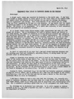 Newsletter to University Men in the Service (March 22, 1943)