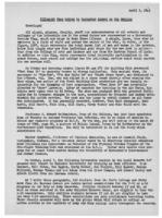 Newsletter to University Men in the Service (April 5, 1943)