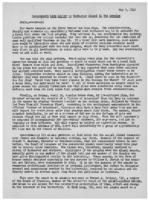 Newsletter to University Men in the Service (May 3, 1943)