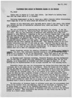 Newsletter to University Men in the Service (May 17, 1943)