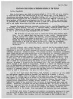 Newsletter to University Men in the Service (May 31, 1943)