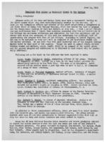 Newsletter to University Men in the Service (June 14, 1943)