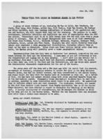 Newsletter to University Men in the Service (June 28, 1943)