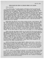Newsletter to University Men in the Service (July 12, 1943)