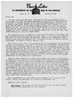 Newsletter to University Men in the Service (August 23, 1943)