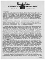 Newsletter to University Men in the Service (September 4, 1943)