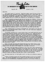 Newsletter to University Men in the Service (October 4, 1943)