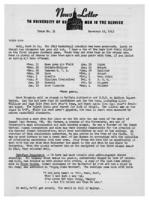Newsletter to University Men in the Service (November 15, 1943)