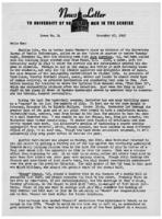 Newsletter to University Men in the Service (December 27, 1943)