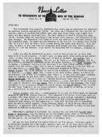 Newsletter to University Men in the Service (January 10, 1944)