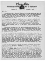 Newsletter to University Men in the Service (February 7, 1944)
