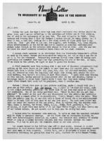 Newsletter to University Men in the Service (April 3, 1944)