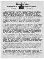 Newsletter to University Men in the Service (April 17, 1944)