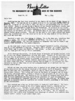 Newsletter to University Men in the Service (May 1, 1944)