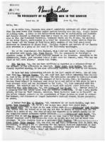 Newsletter to University Men in the Service (June 12, 1944)