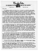 Newsletter to University Men in the Service (June 26, 1944)