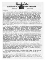 Newsletter to University Men in the Service (July 24, 1944)