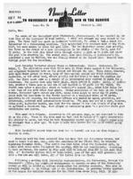 Newsletter to University Men in the Service (October 4, 1944)