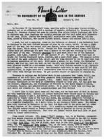 Newsletter to University Men in the Service (January 8, 1945)