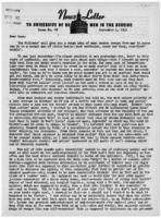 Newsletter to University Men in the Service (September 4, 1945)