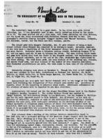 Newsletter to University Men in the Service (December 10, 1945)