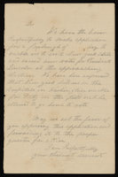 Handwritten furlough request template