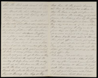 Correspondence from John McGraw to Mary McGraw, September 14, 1864