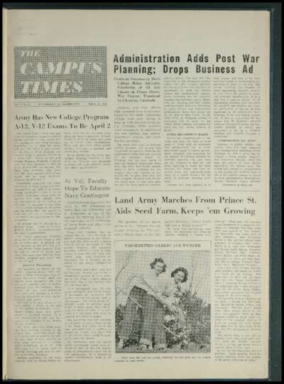 Campus Times (March 19, 1943)