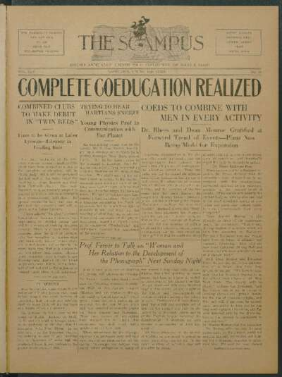 Campus: The Scampus (April 1, 1920)