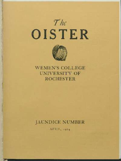 Cloister: Oister (April 1924)