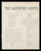 Rochester Campus (June 1877)