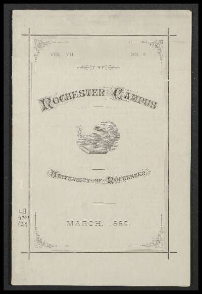 Rochester Campus (March 1880)