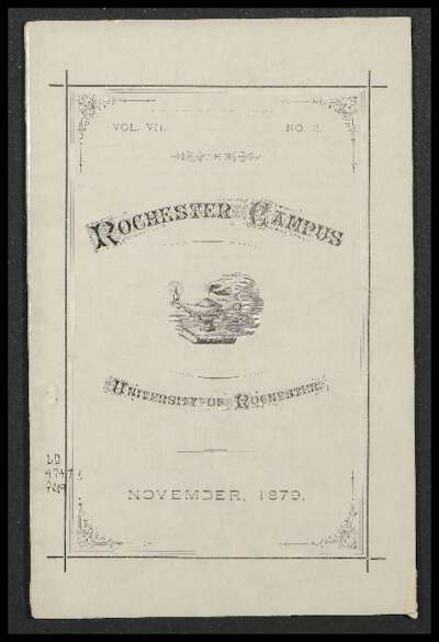 Rochester Campus (November 1879)