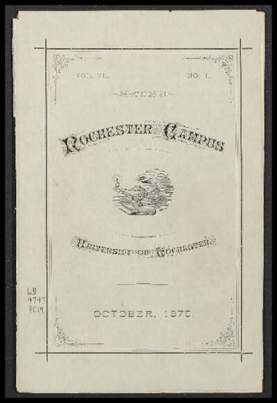 Rochester Campus (October 1879)