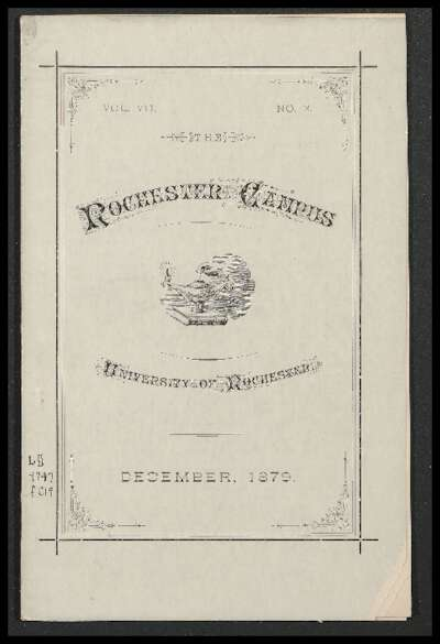 Rochester Campus (December 1879)