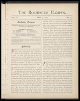 Rochester Campus (May 09, 1885)