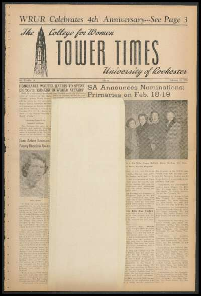 Tower Times (February 15, 1952)