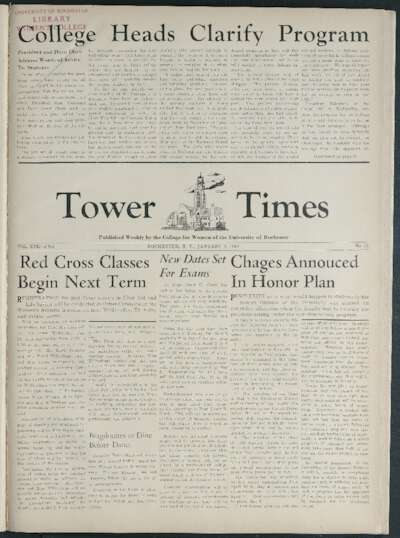 Tower Times (January 09, 1942)